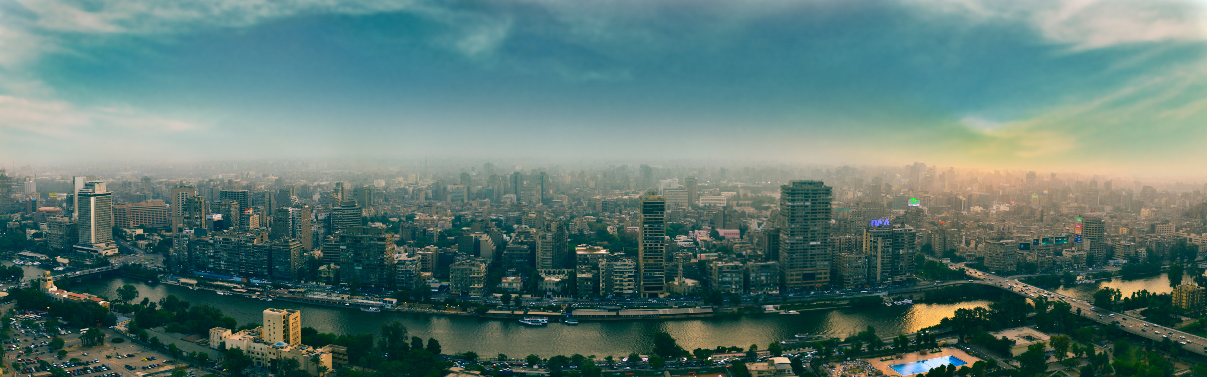 [X] République arabe d'Egypte - جمهورية مصر العربية Cairo_panorama