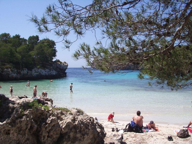 Playa del mediterráneo