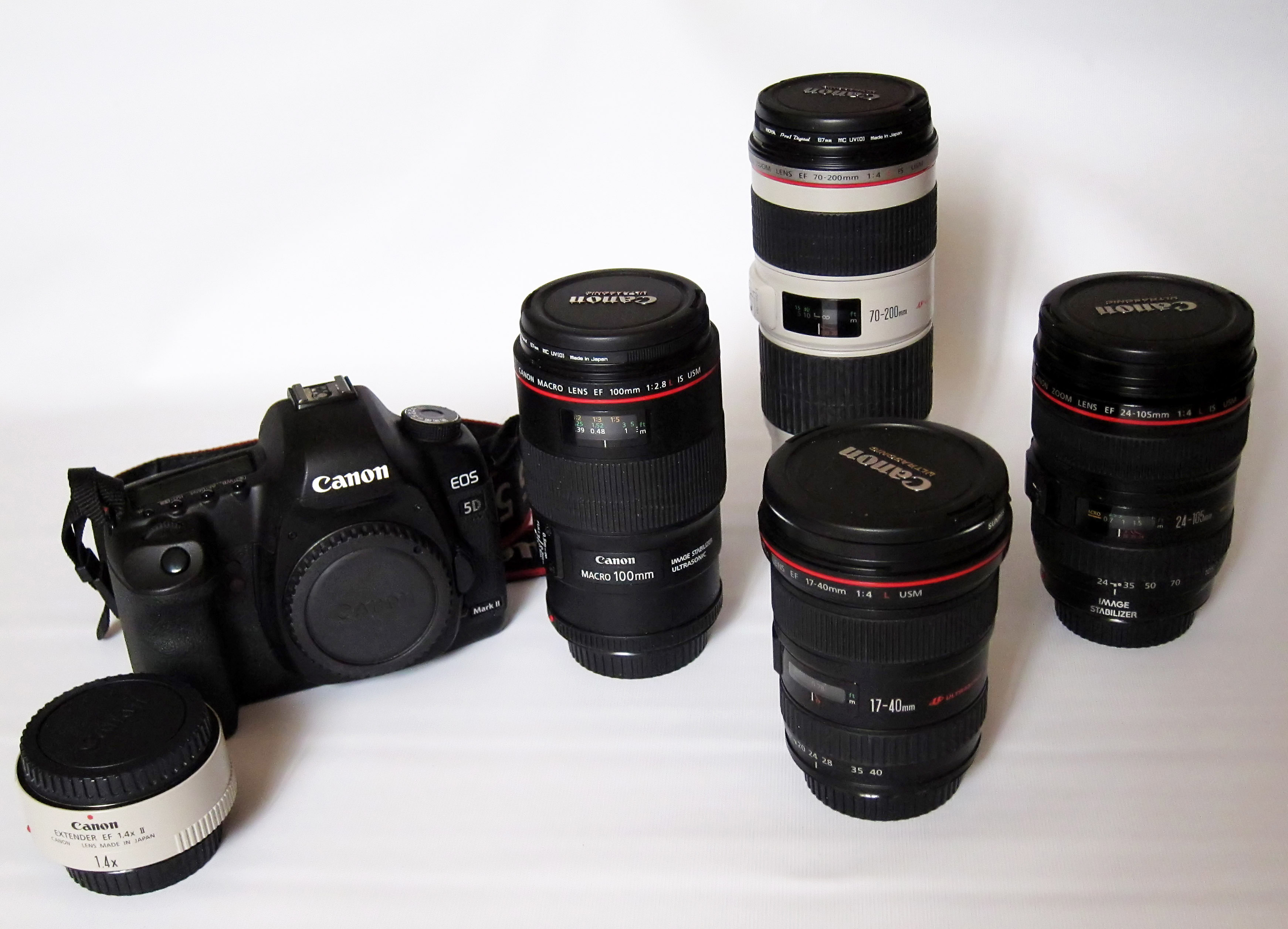 FileCanon EOS 5D Mark II And Some Canon Lenses
