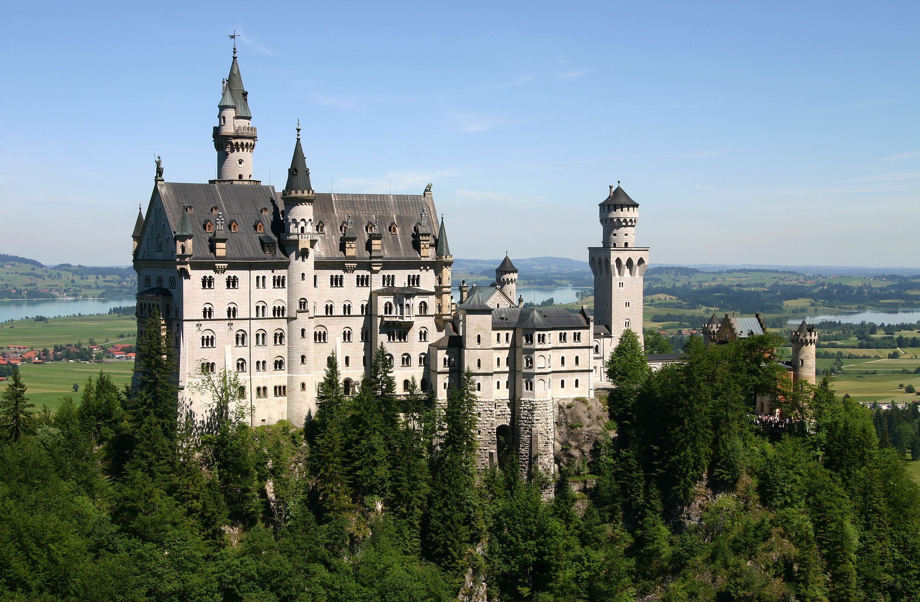 A castle of fairy-tale Castle