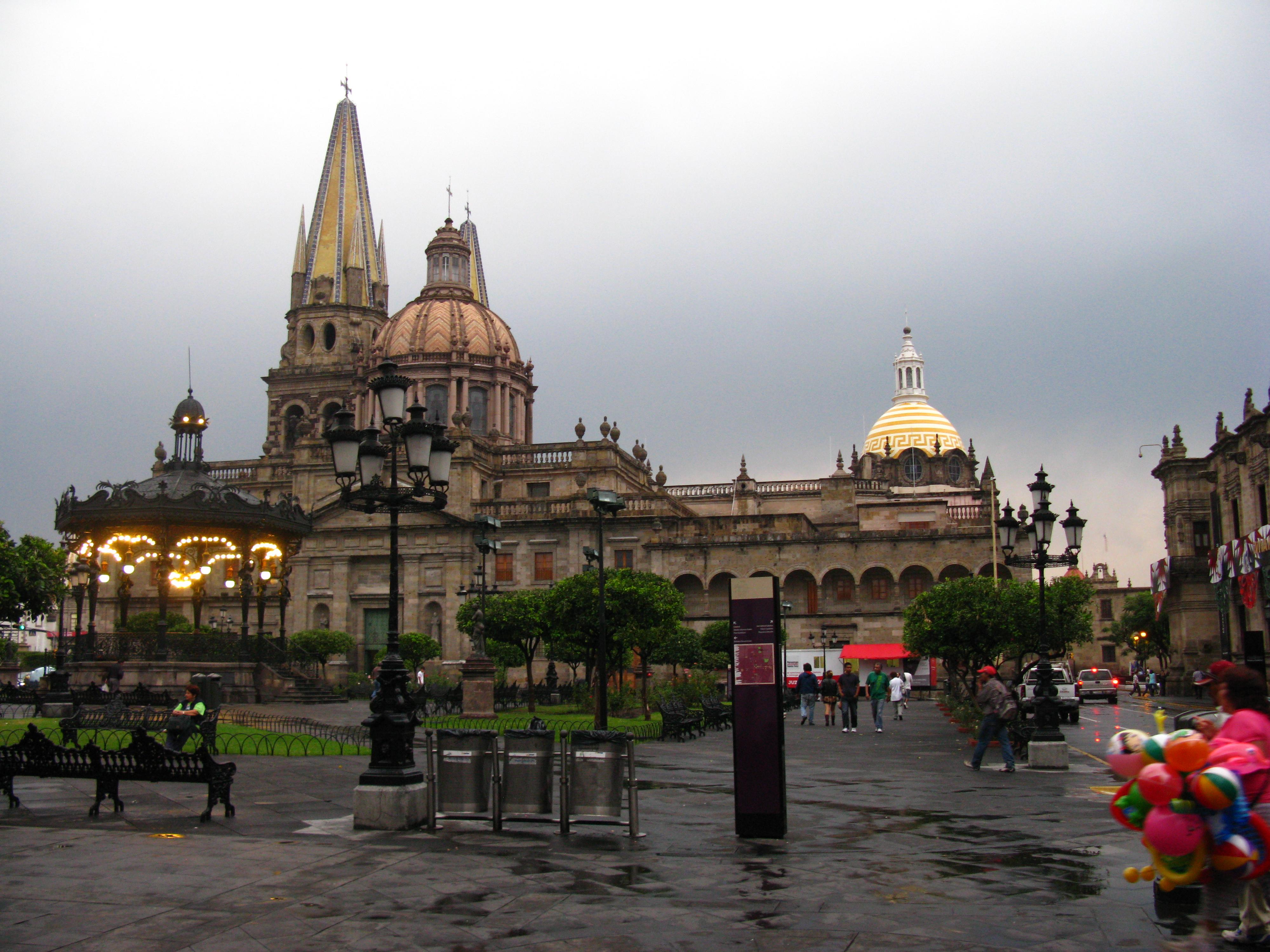 Filecatedral De Guadalajara Jalisco Mexico Despues De La Lluvia