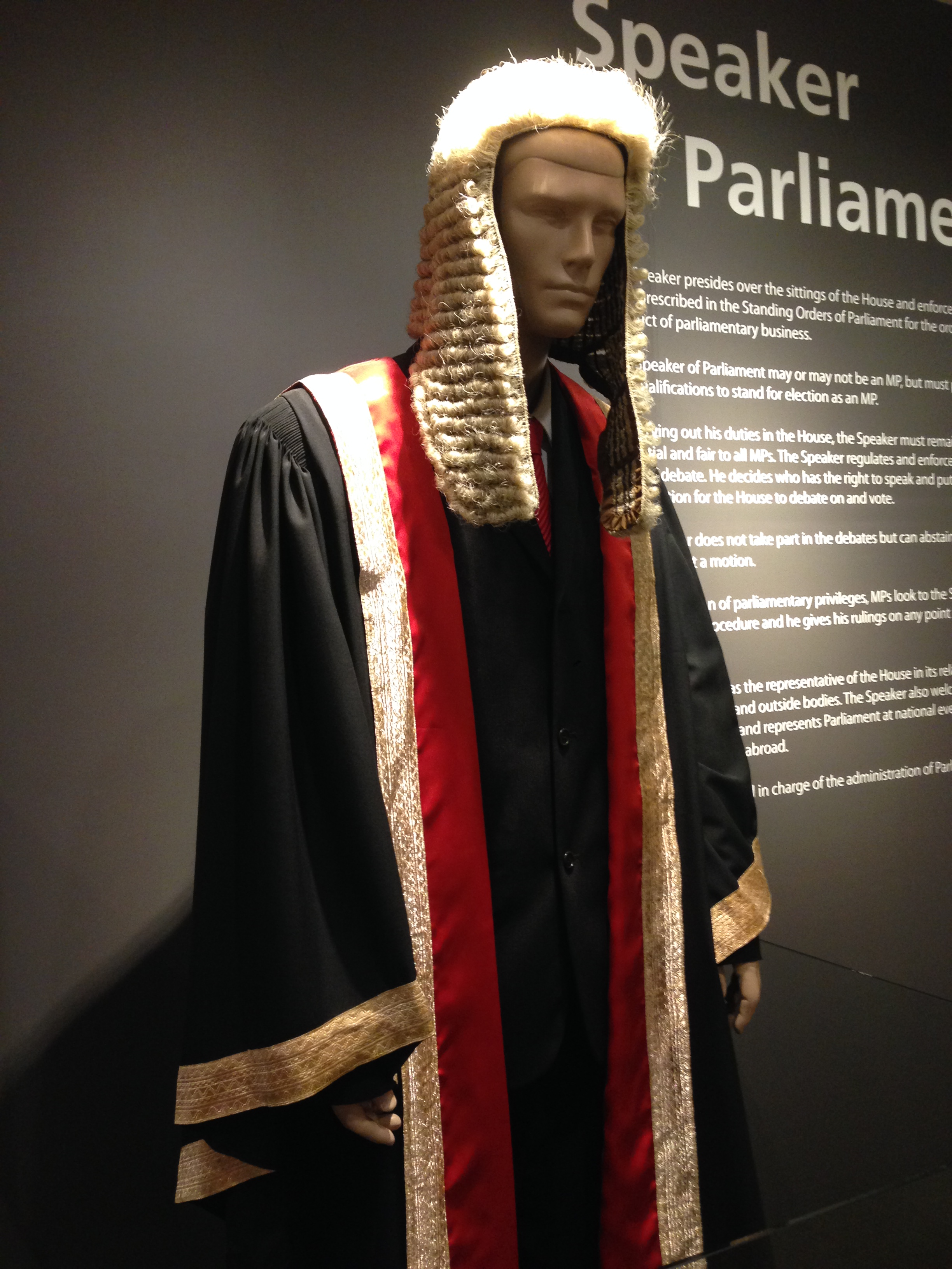 File:Ceremonial gown of the Speaker of the Parliament of Singapore ...