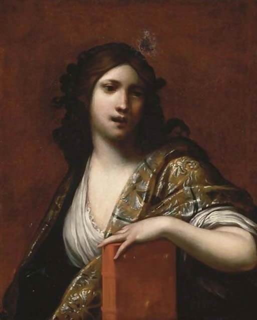 Clio, the Muse of History by Francesco Furini.jpg