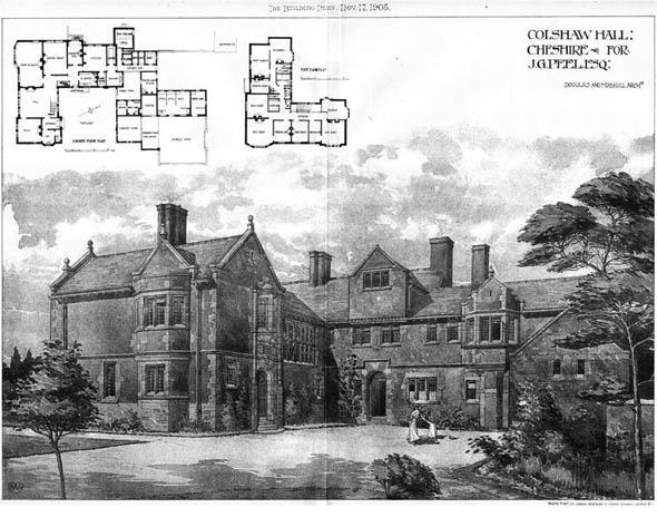 Colshaw Hall Wikipedia