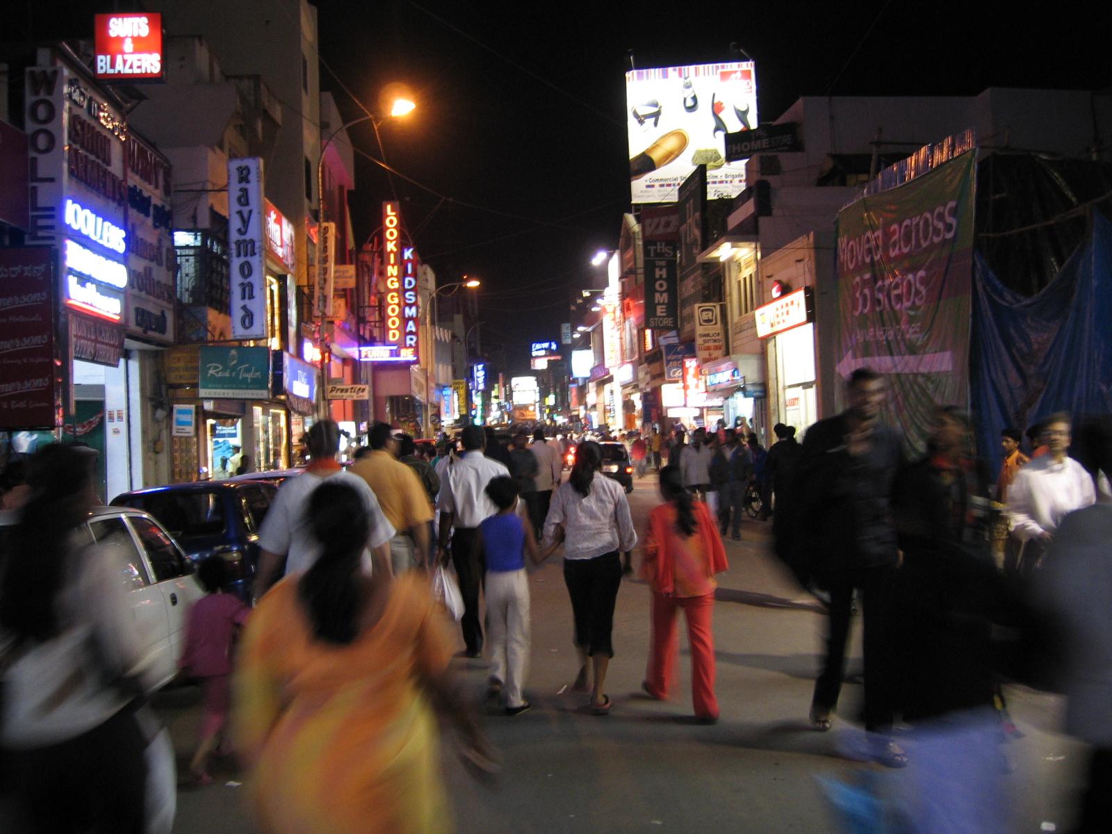 Shivajinagar, Bangalore - Wikipedia