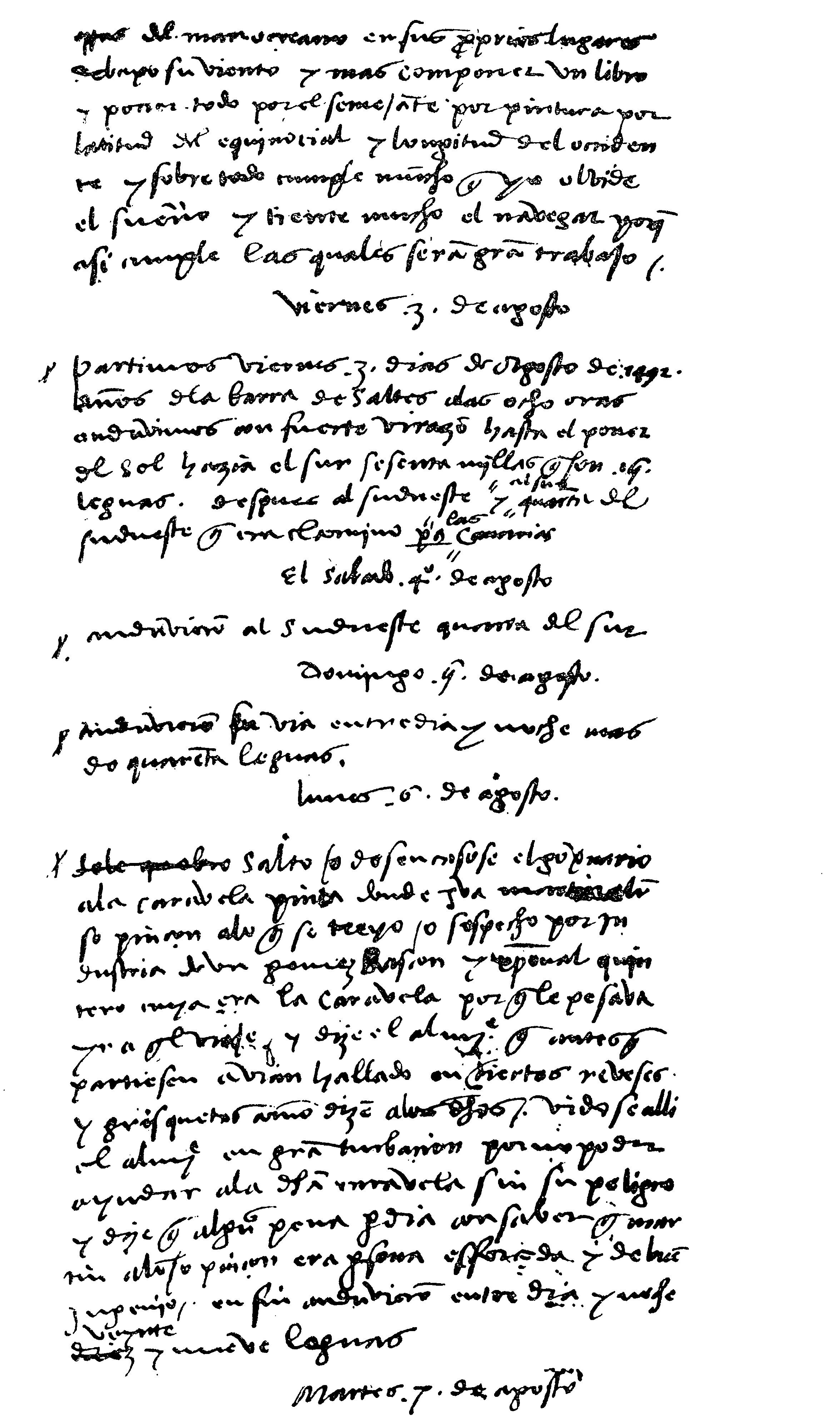 Journal of Christopher Columbus