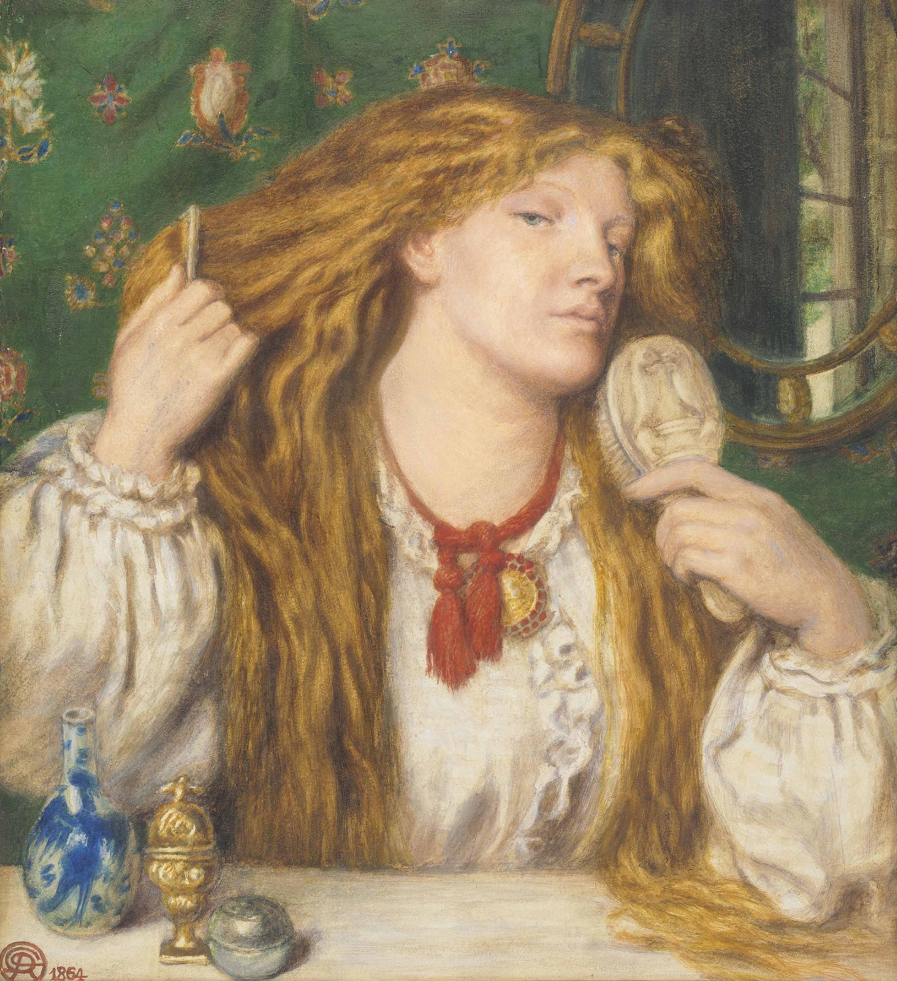 Filedante gabriel rossetti woman combing her hairg filedante gabriel rossetti woman combing her hairg urmus Choice Image