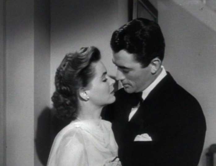 Dorothy McGuire and Gregory Peck in Gentleman's Agreement trailer
