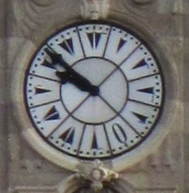 Clocks in the Ottoman Empire tended to use Eastern Arabic numerals.