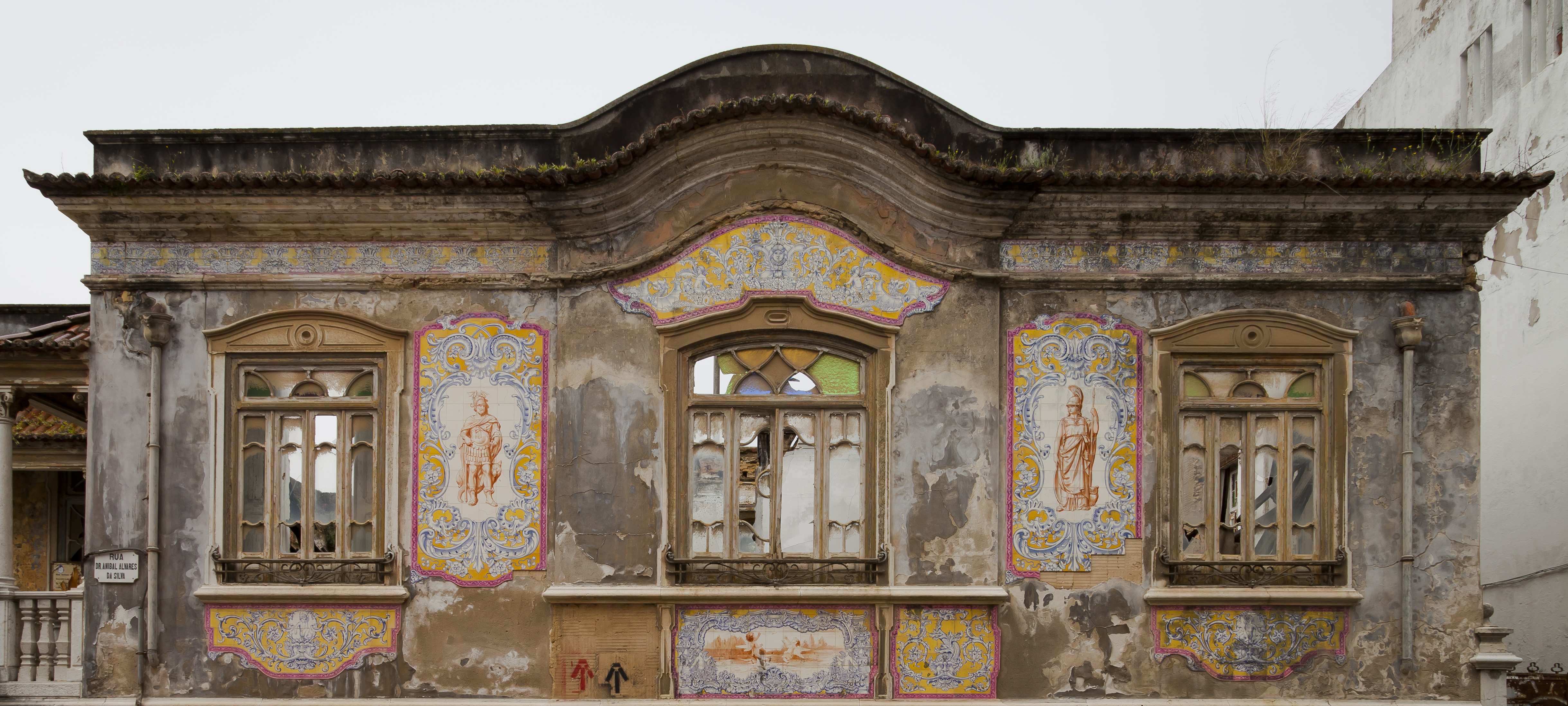 Edificio abandonado en Setúbal (Portugal)