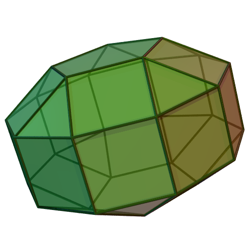J 31 Elongated pentagonal g...