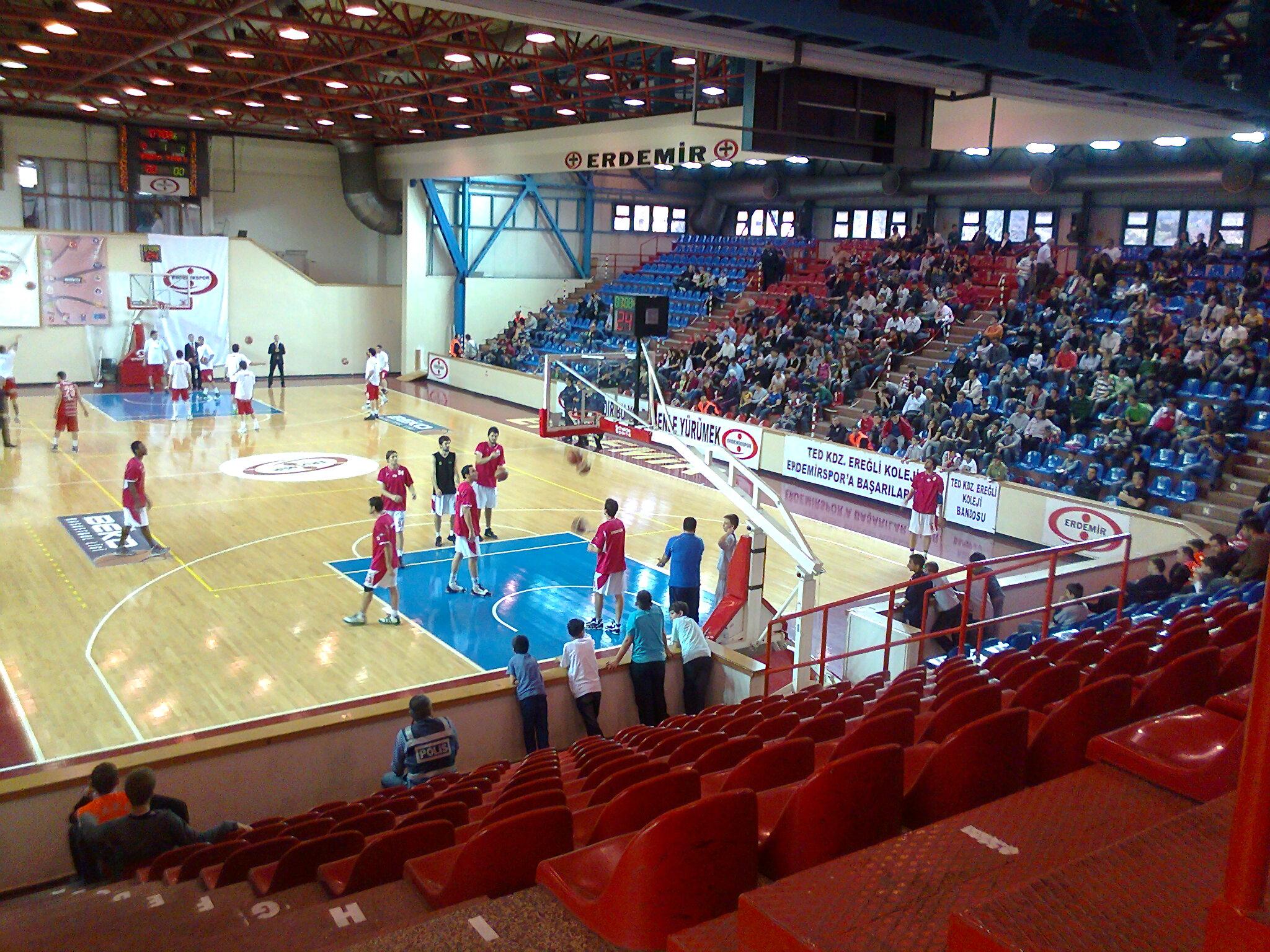 File:Erdemir Spor Salonu iç görünüş jpg - Wikipedia