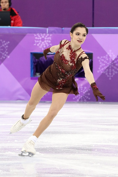 Evgenia Medvedeva at the 2018 Winter Olympic Games - Free program 17.jpg
