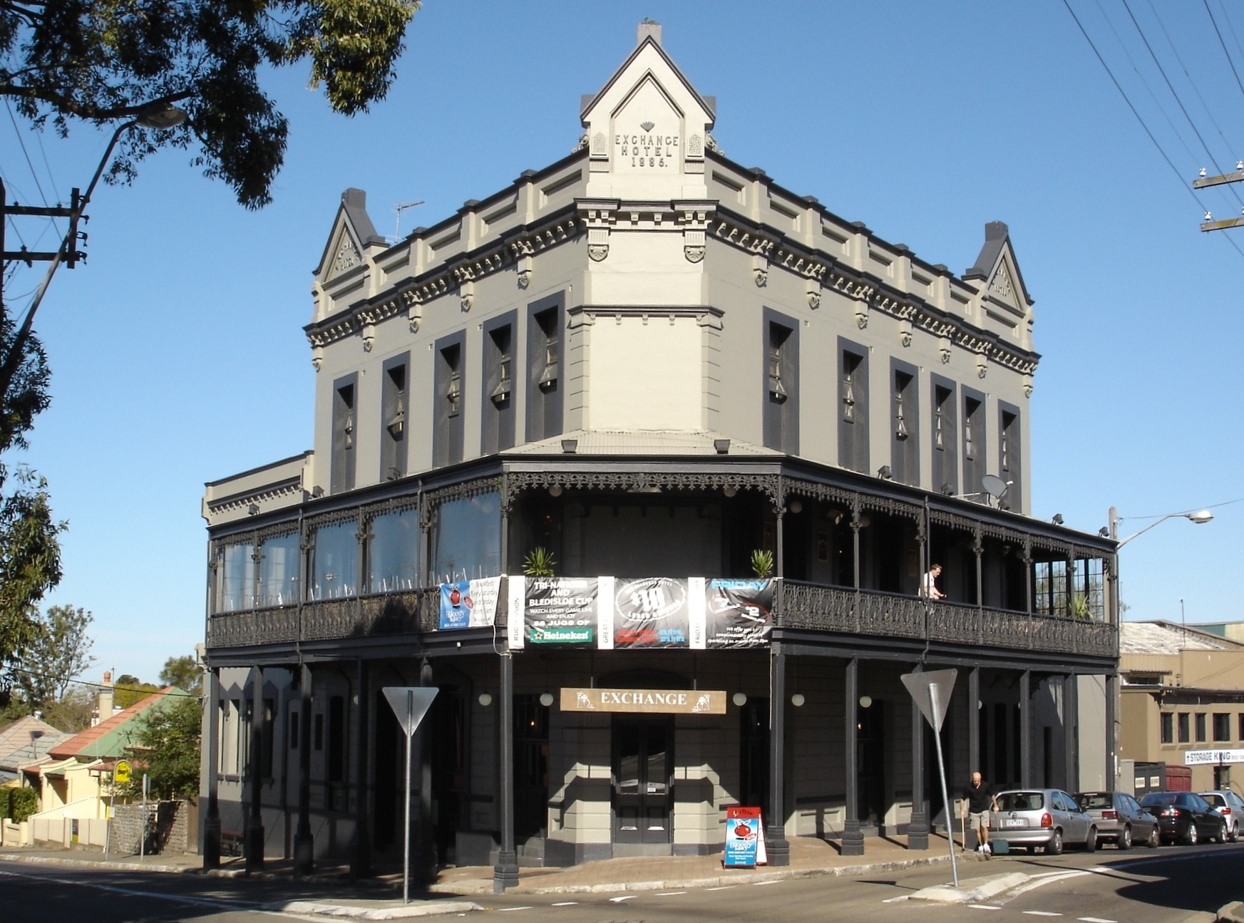 Exchange Hotel in Sydney's Balmain District