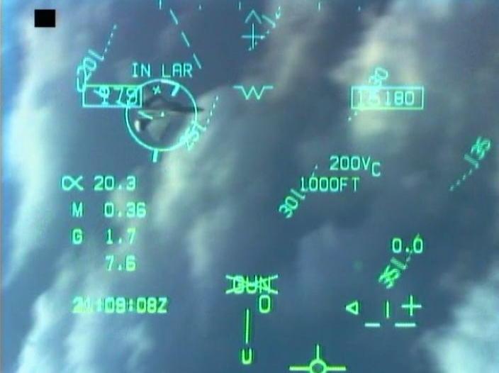 """نظم Skyward-G للبحث والتتبع لطائرات """"Gripen E""""  F-18_HUD_gun_symbology"""