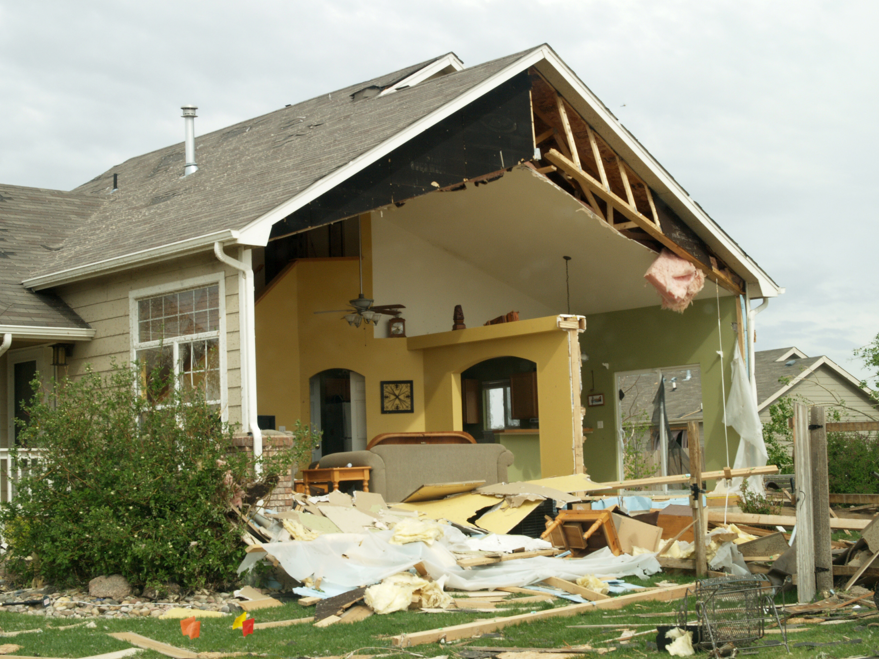 File fema 35411 damaged home in for Home pictures images