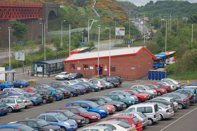 Forth Road Bridge Car Park
