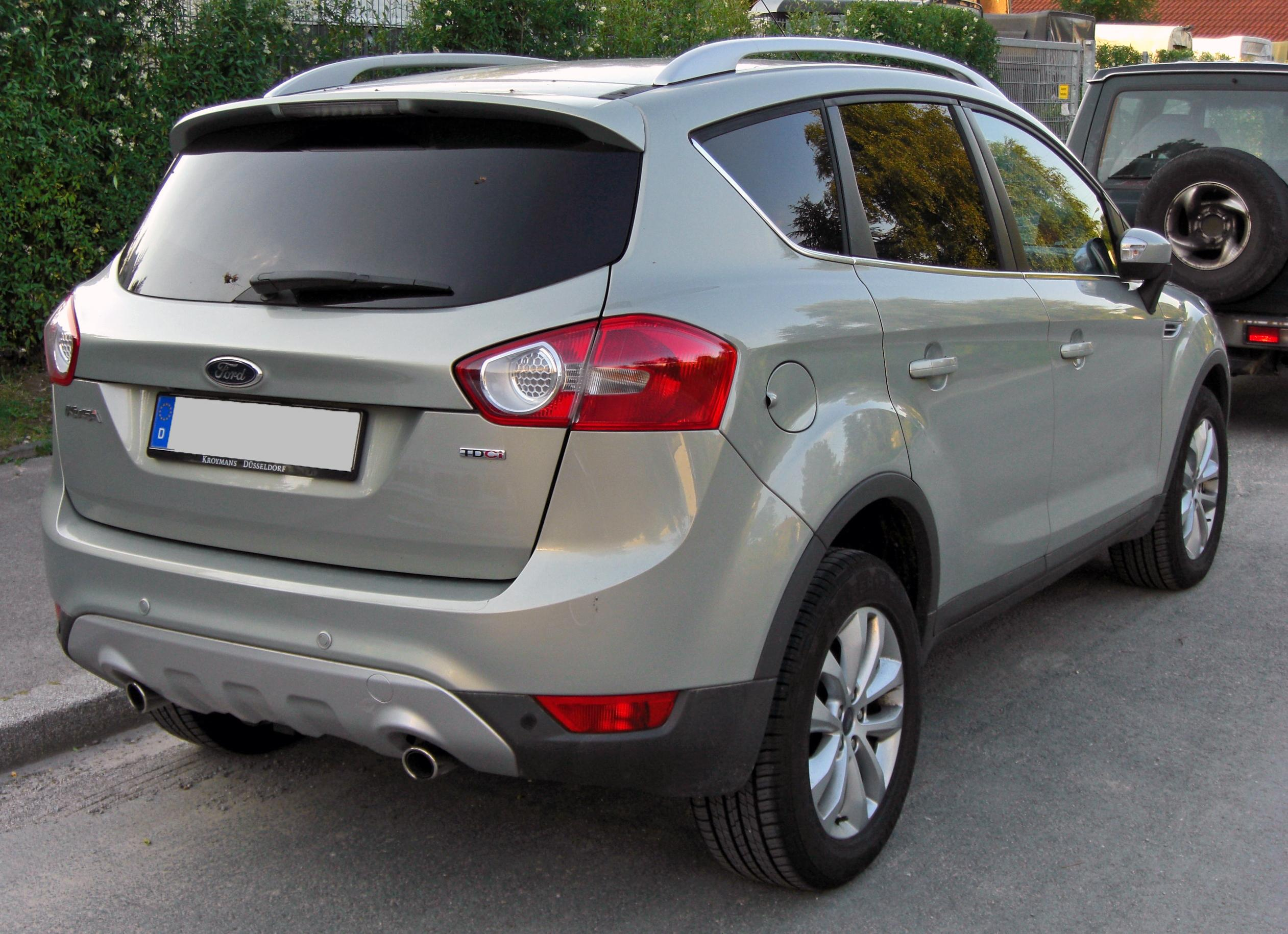 file ford kuga 20090612 rear jpg wikimedia commons. Black Bedroom Furniture Sets. Home Design Ideas