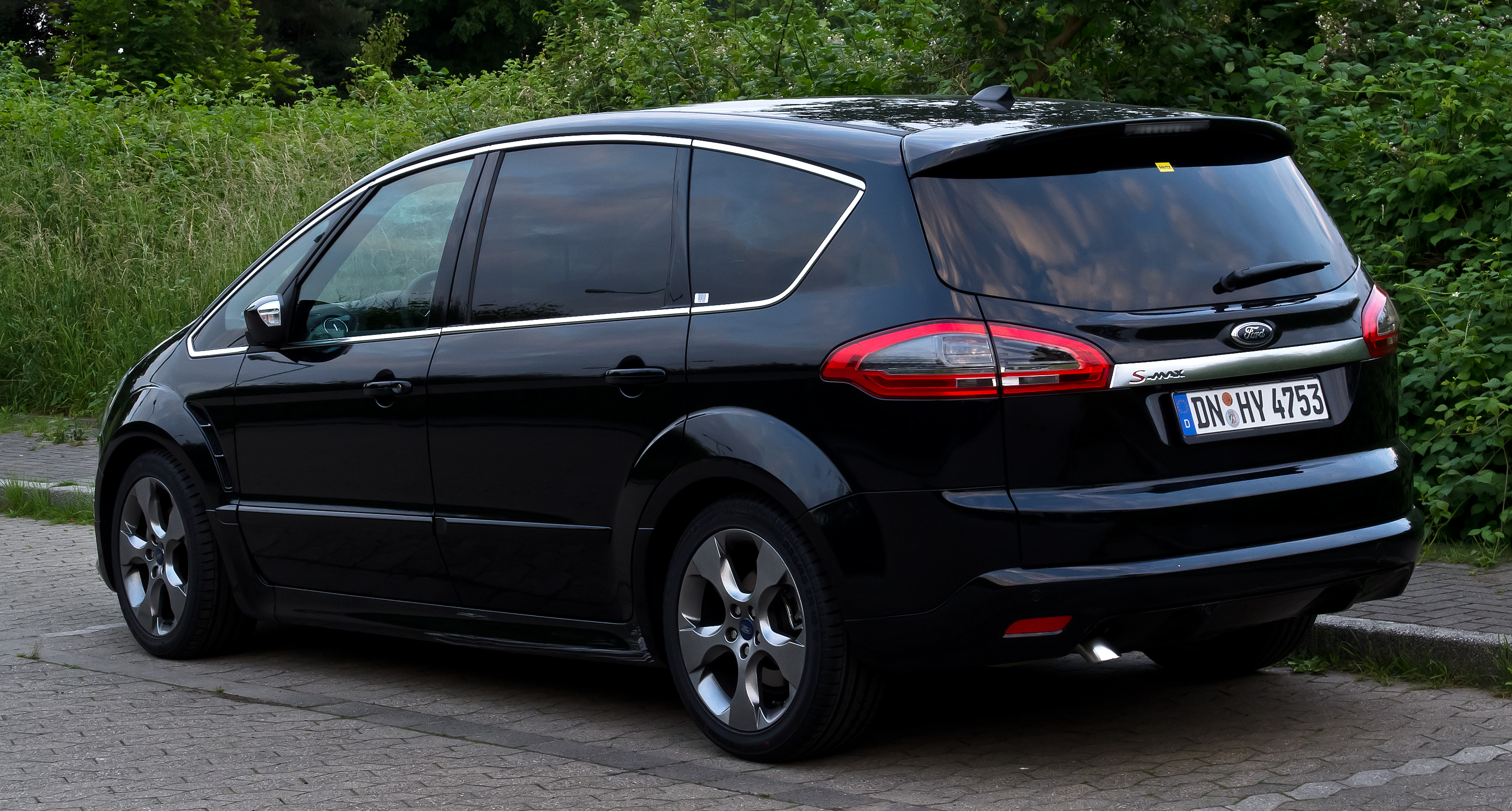 file ford s max titanium s facelift heckansicht 18 juni 2012 wikimedia commons. Black Bedroom Furniture Sets. Home Design Ideas