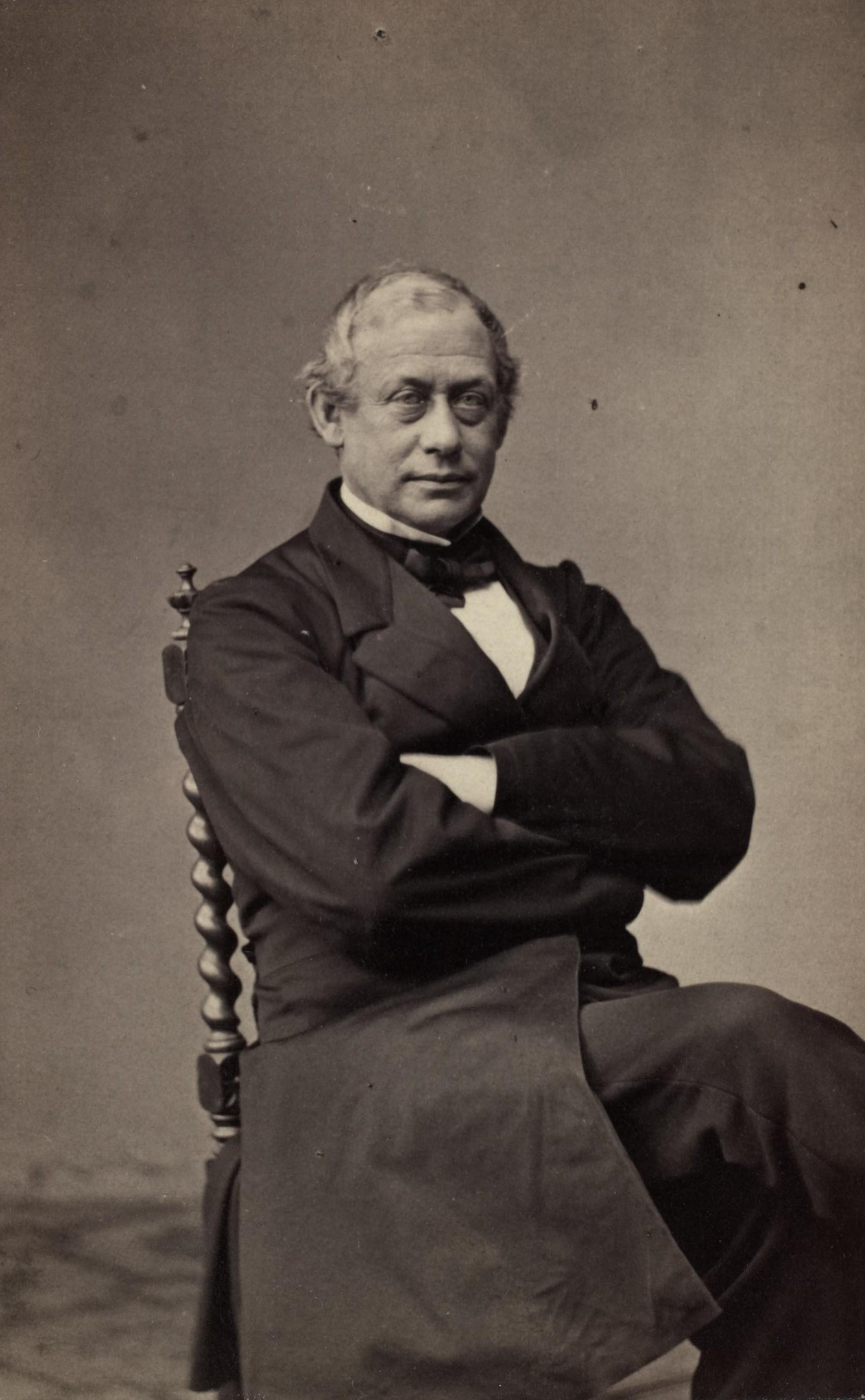 Frederik Stang (1808 - 1884), Norwegian Prime Minister 1861-1880