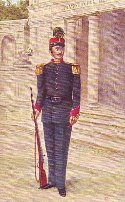 Palatijns Gardist in uniform