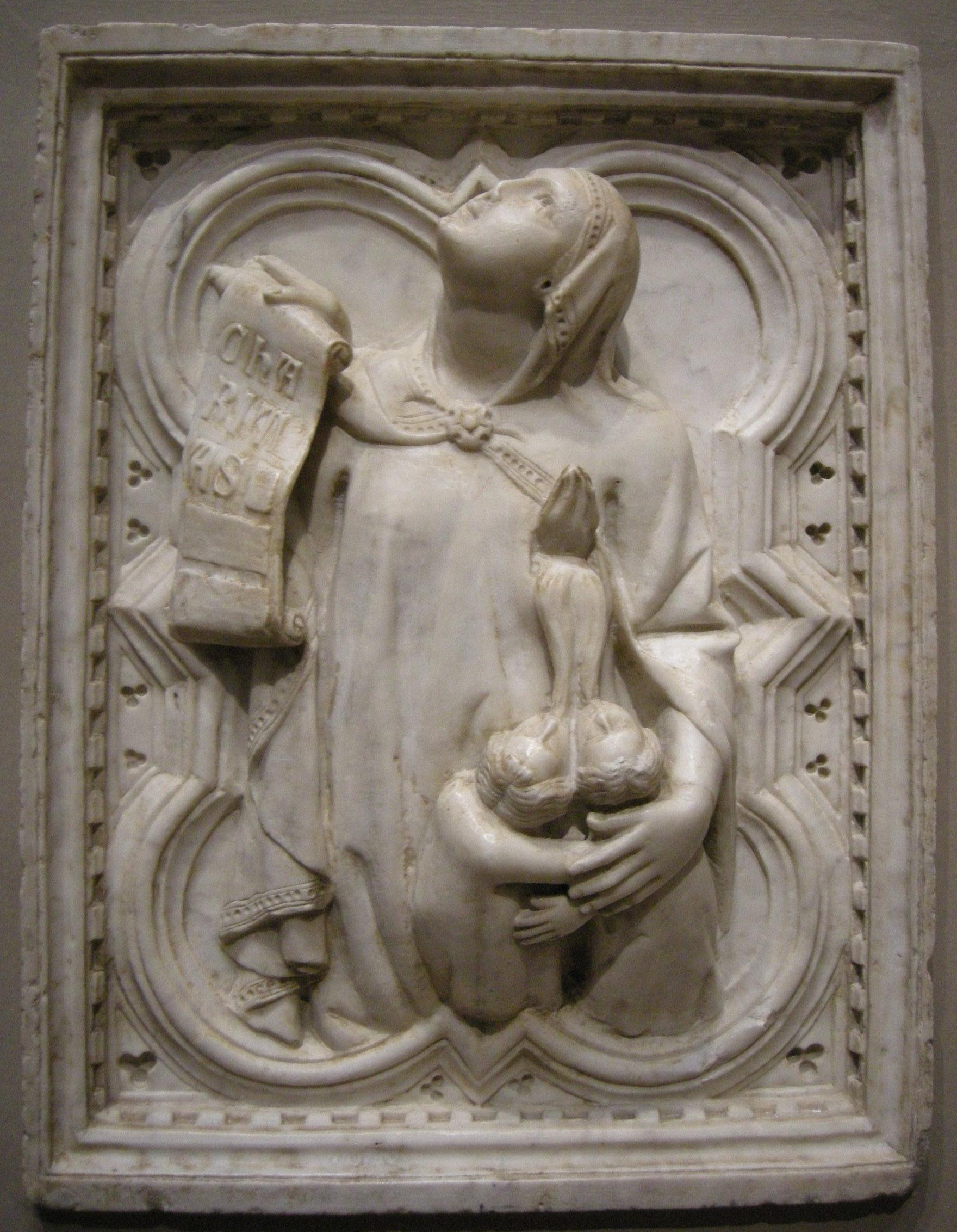 File:Giovanni di balduccio, carità, 1328-1338 circa.JPG