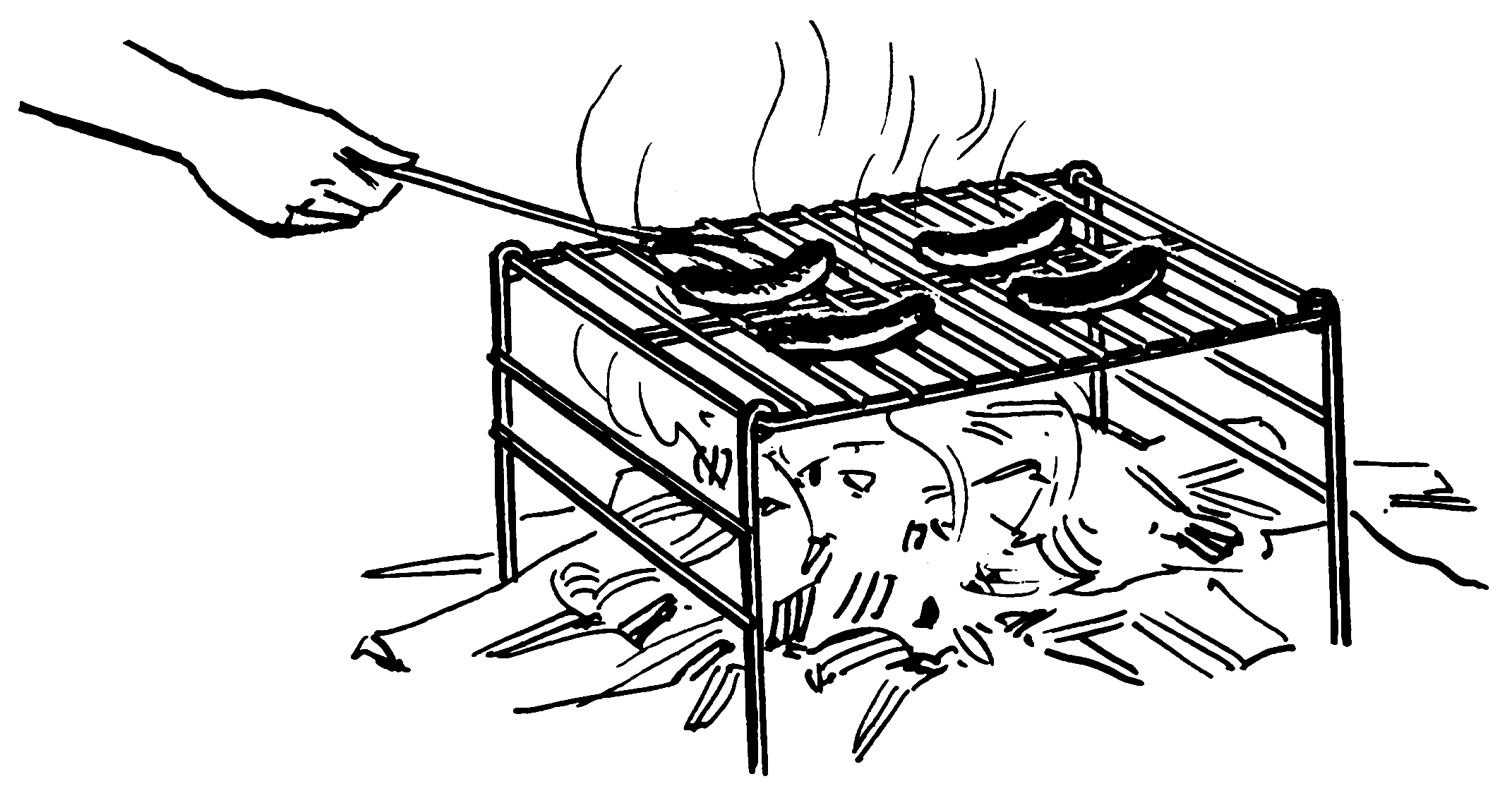 pierwsze grillowanie