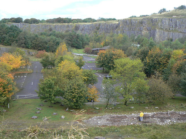 Grin Low Quarry - geograph.org.uk - 1518769