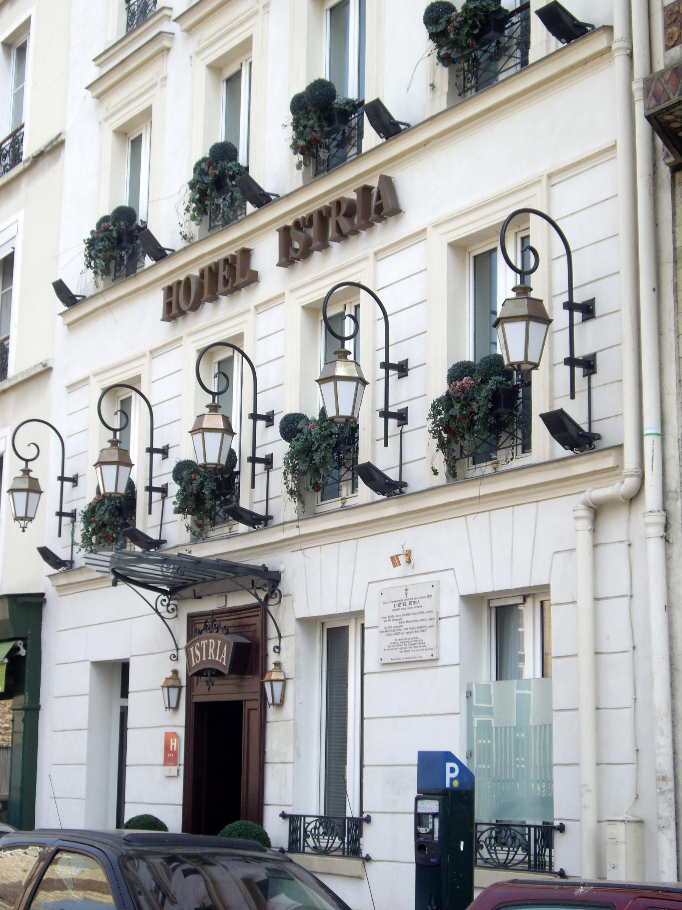 Hotel Istria Paris Montparnabe