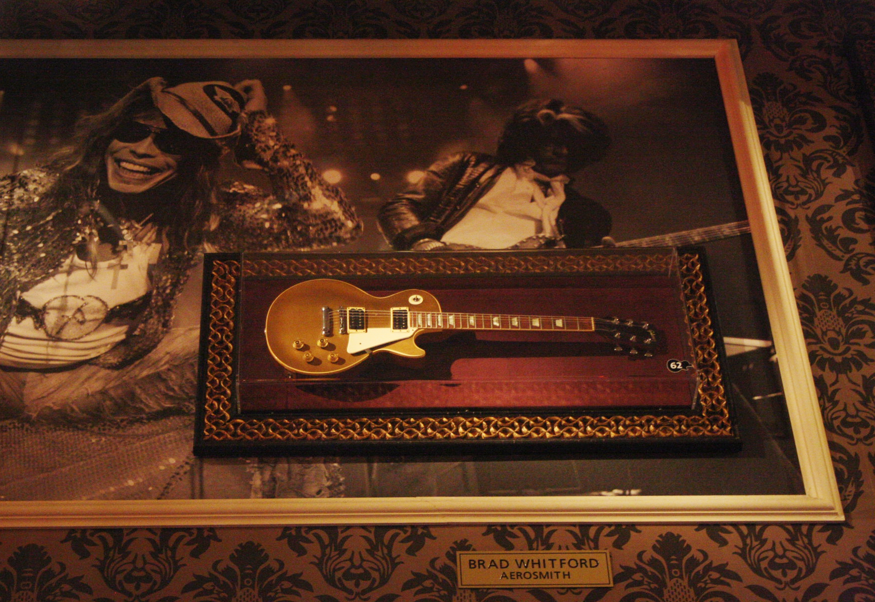 Hard Rock Cafe Florence Aerosmith