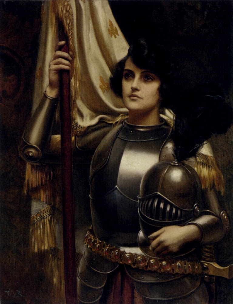 a biography of french jeanne darc st joan of arc Download this stock image: joan of arc (c1412-31) st jeanne d'arc, the maid of orleans, french patriot and martyr tried for heresy and sorcery and burnt - d960e2.