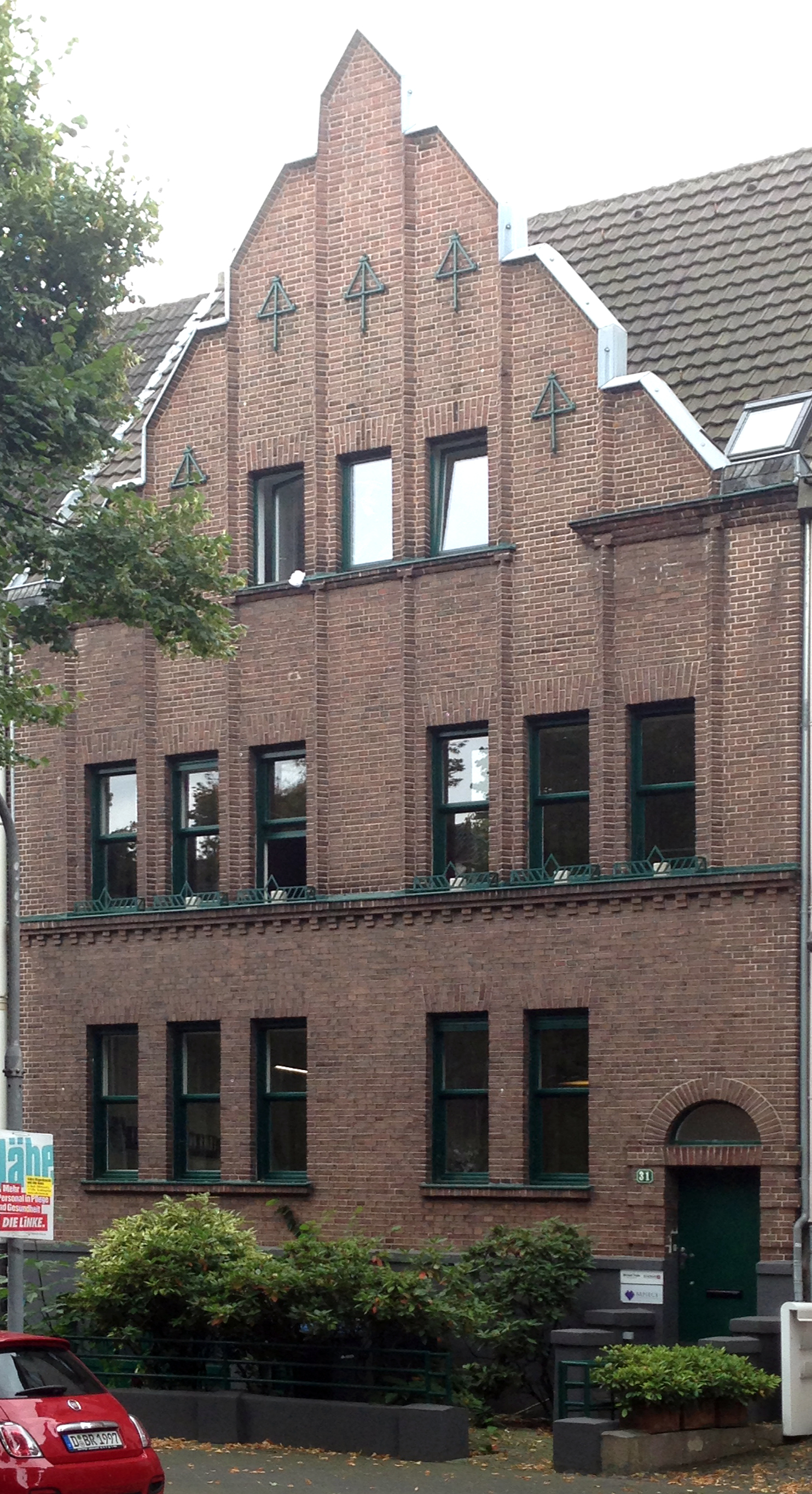 Datei Haus Düsseldorfer Straße 31 Düsseldorf Oberkassel