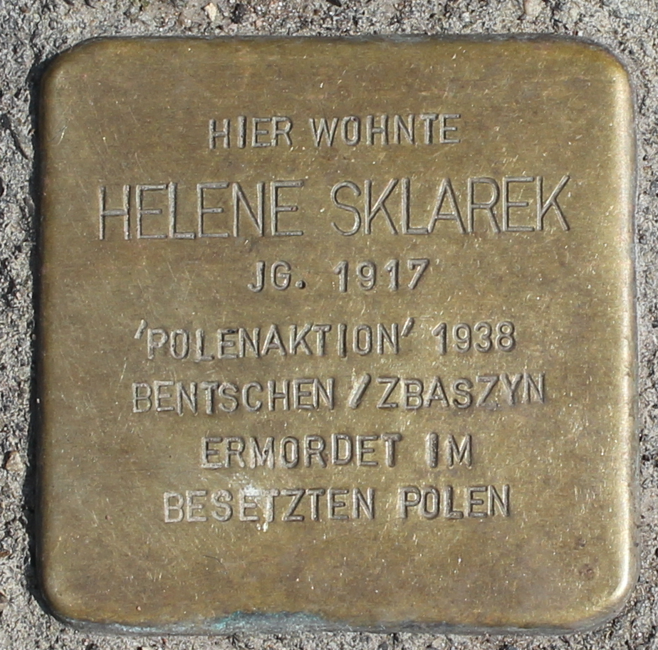 Stolperstein für Helene Sklarek