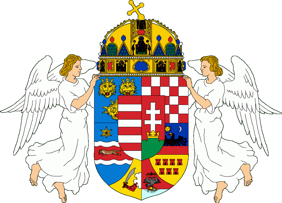 Medium Coat of Arms of Hungary-Croatia