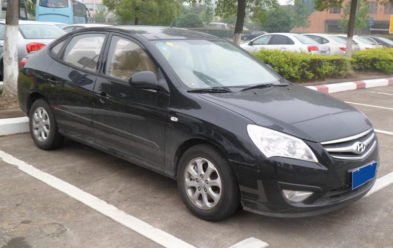 Hyundai Elantra Wikipedia 1 8l Engine Yuedong China