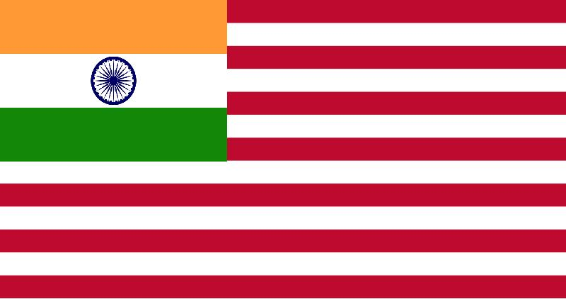 american flag. File:Indian-American Flag.jpg