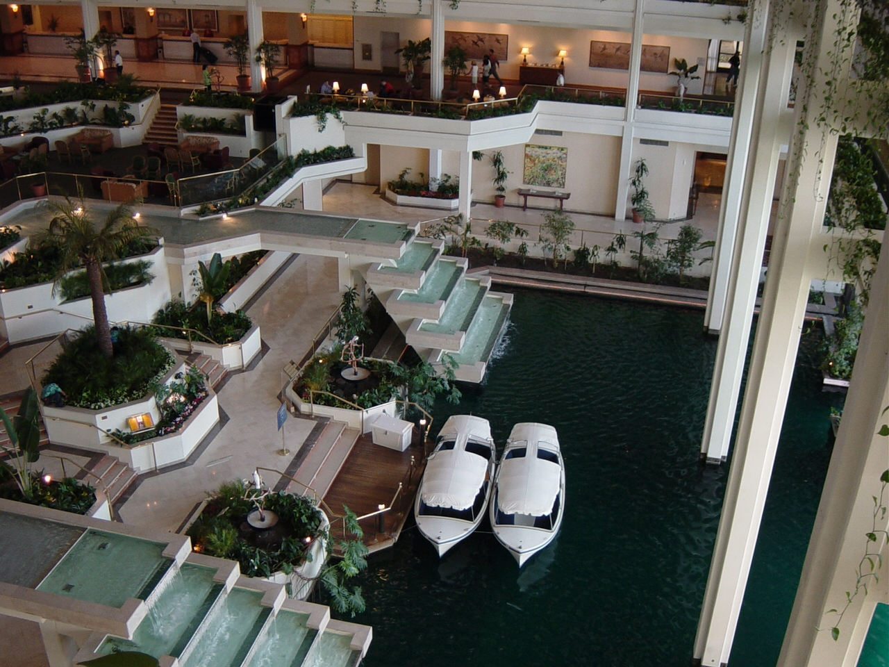 Hotel Foyer Spa : Jw marriott desert springs resort and spa palm