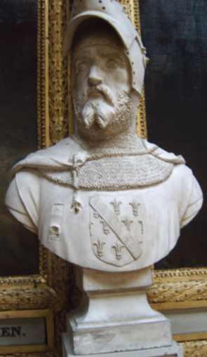 Depiction of Jaime I de La Marche
