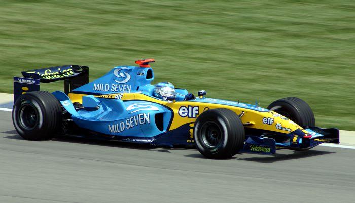 Renault F1, equipe histórica de Formula 1 de 2004 - by Wikipaedia, Morio
