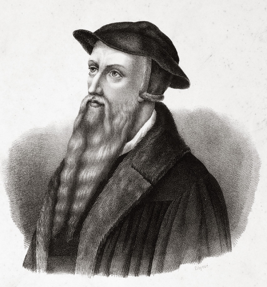 A description of calvin a western writer on theology