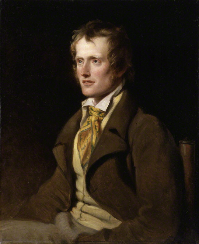 John Clare by William Hilton, 1820, from Wikimedia