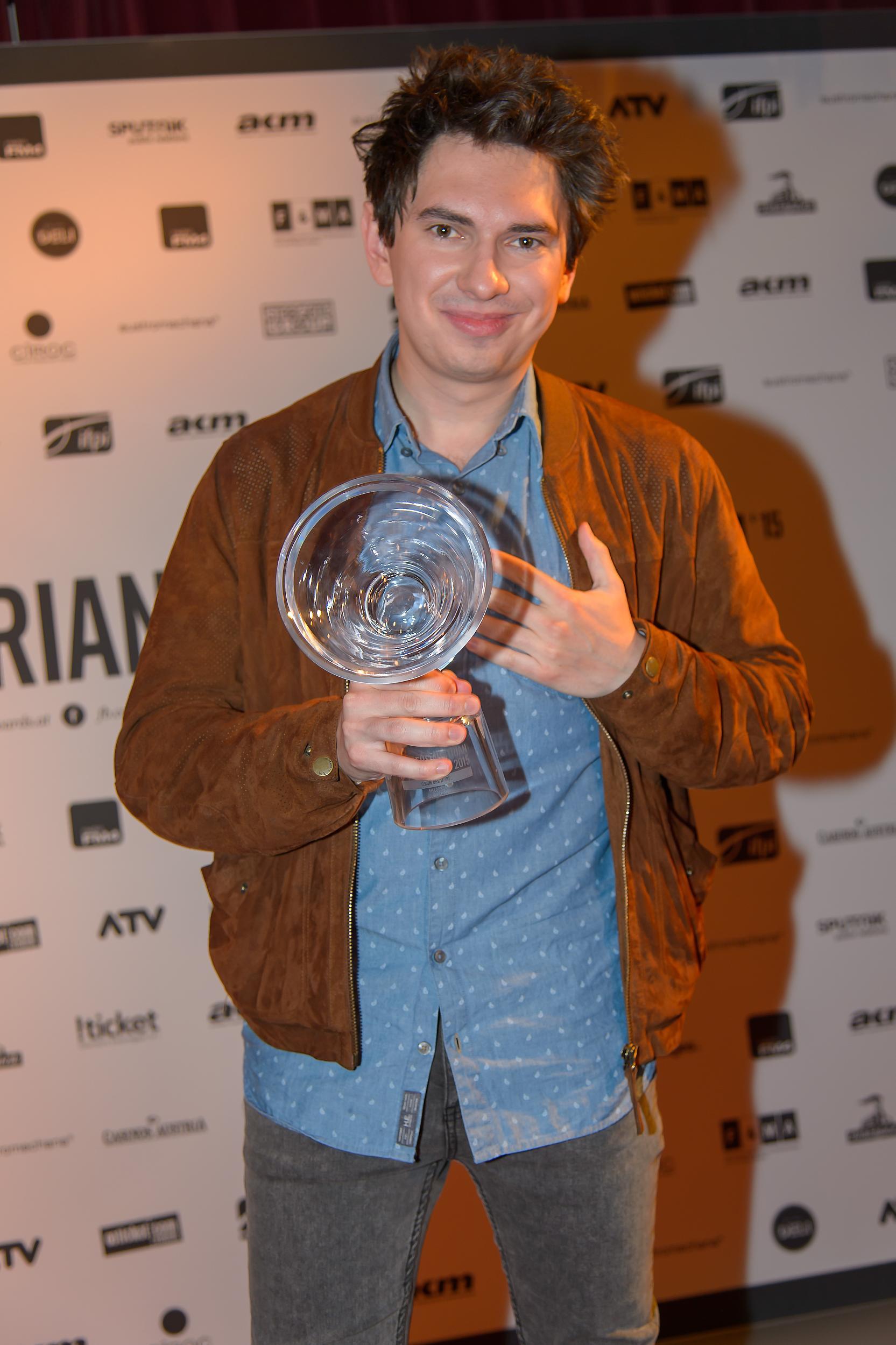 Julian le Play bei den Amadeus Austrian Music Awards 2015