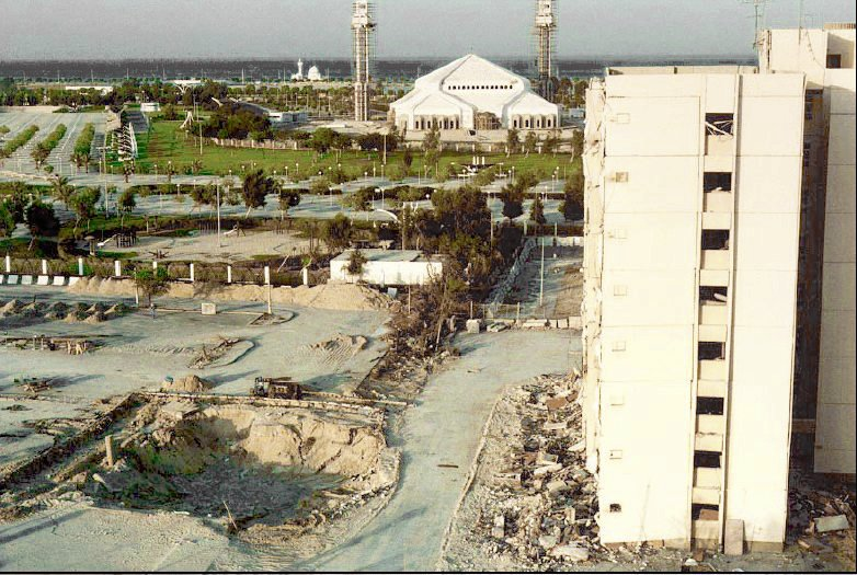 Khobar towers and crater.jpg