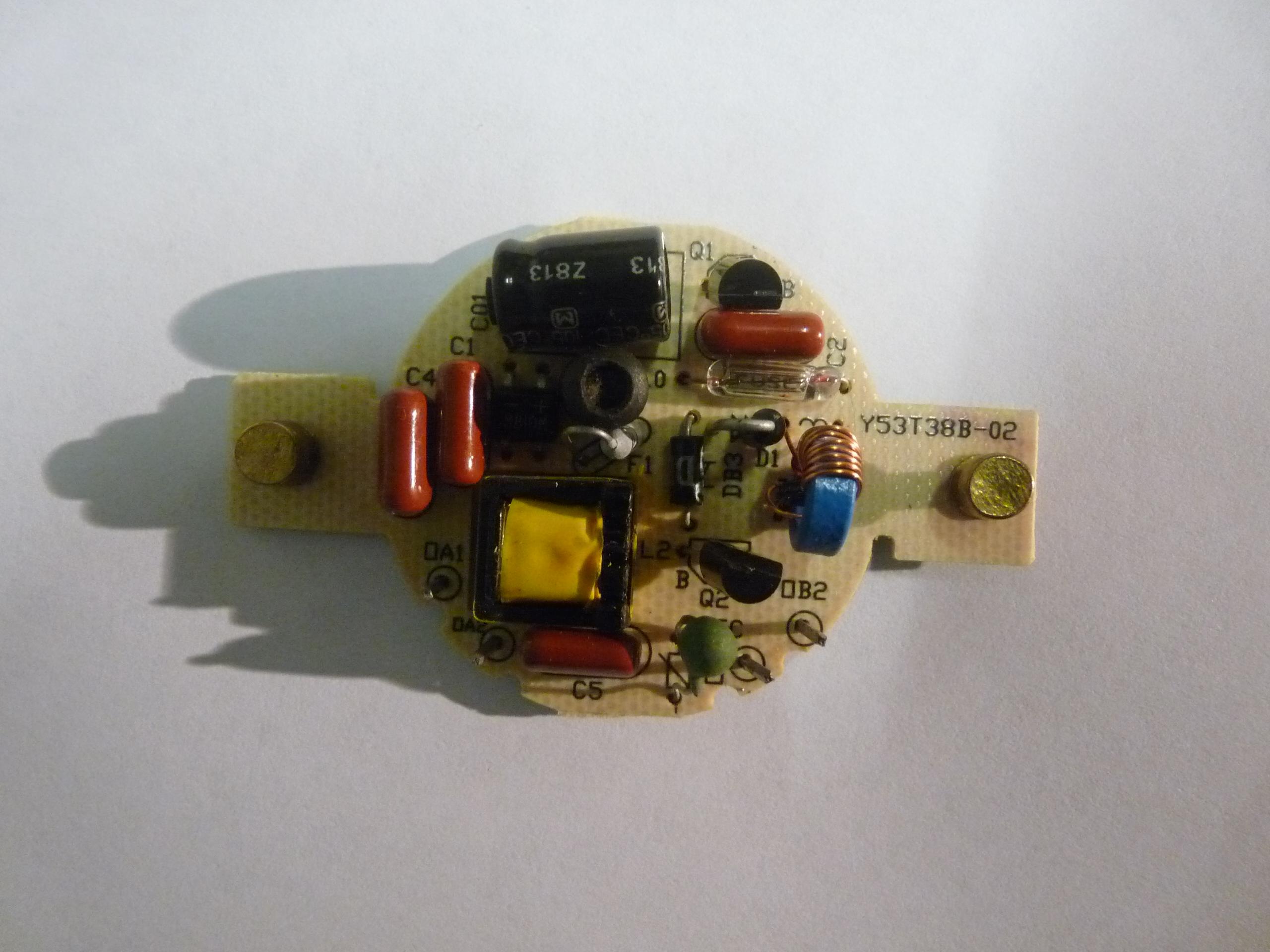 Filelight Source Fluorescence Cfl Elbal G53 Electronic Ballast 14 Watt Compact Fluorescent