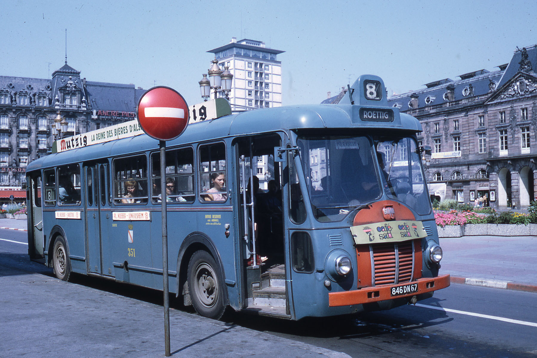 file ligne 8 strasbourg place kl ber 1969 bus wikimedia commons. Black Bedroom Furniture Sets. Home Design Ideas