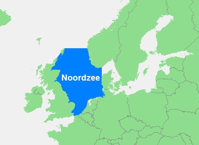Locatie Noordzee