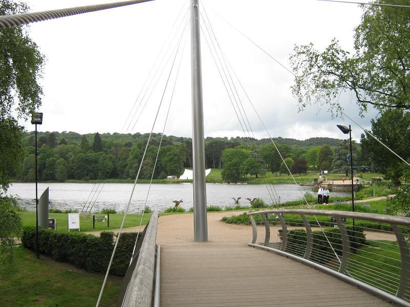 Main Entrance footbridge, Trentham Gardens - geograph.org.uk - 2016107