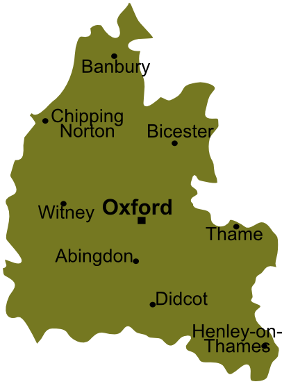 File Map South East England Oxfordshire Png Wikimedia Commons