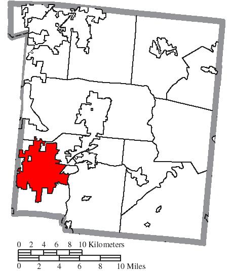 File Map Of Warren County Ohio Highlighting Mason City Png Wikipedia