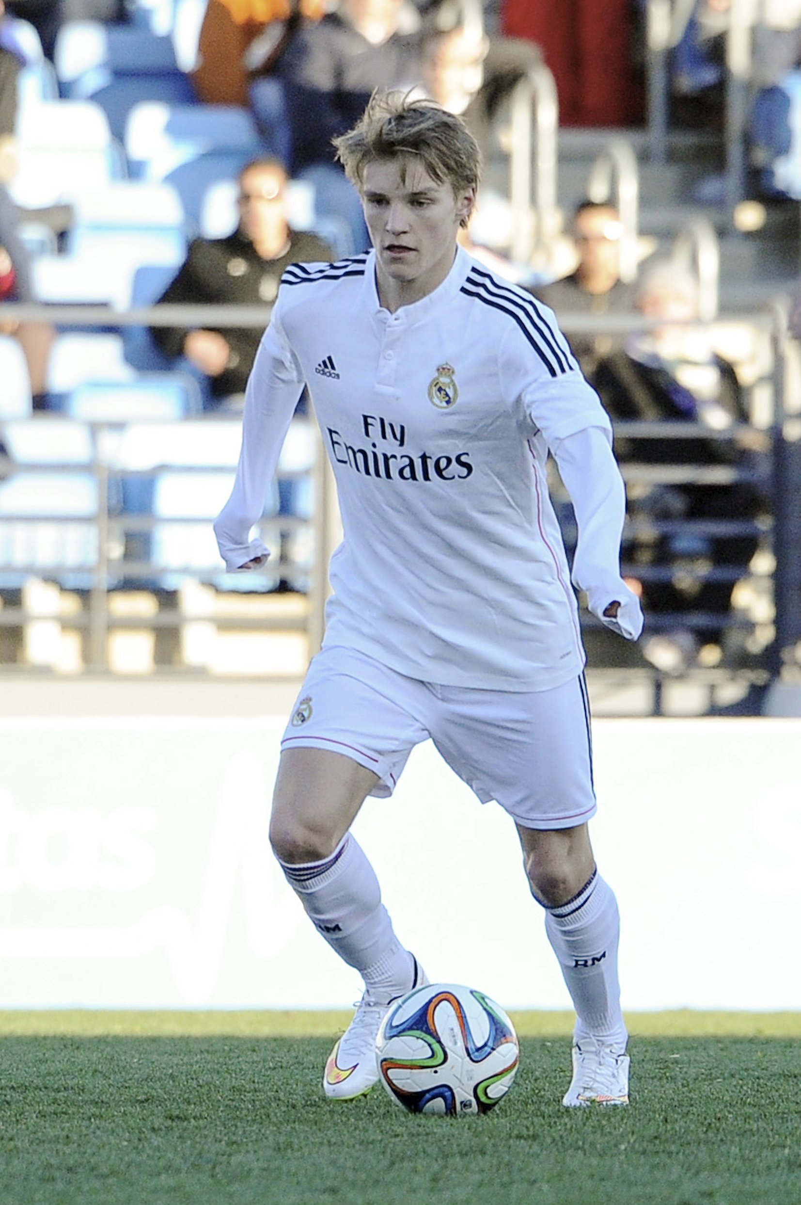 The 19-year old son of father Hans Erik Ødegaard and mother(?) Martin Ødegaard in 2018 photo. Martin Ødegaard earned a  million dollar salary - leaving the net worth at  million in 2018